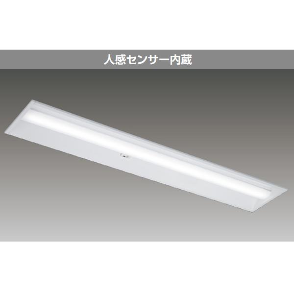 【LEKR422693YL-LD9】東芝 LEDベースライト TENQOOシリーズ 40タイプ 人感センサー内蔵 埋込形 下面開放W220 一般タイプ