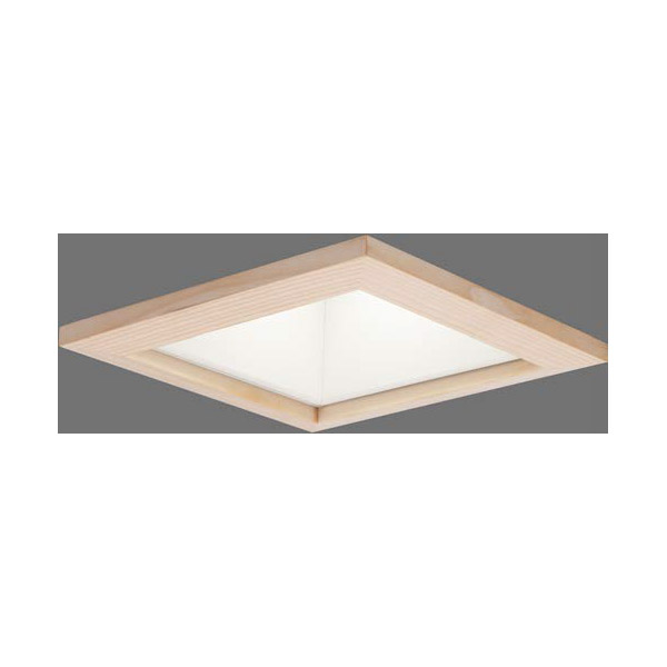 【LEKD2536410WW-LS9】東芝 LEDユニット交換形 ダウンライト 和風(角形) 高効率 非調光 □150 2500シリーズ 【TOSHIBA】