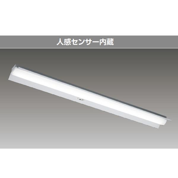 【LEKT415323YW-LD9】東芝 LEDベースライト TENQOOシリーズ 40タイプ 人感センサー内蔵 直付形 反射笠 一般タイプ