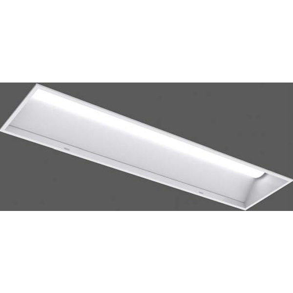 【LEER-43602-LD9+LEEM-40323W-01】東芝 LEDベースライト 40タイプ システムアップW300 埋込形 調光タイプ 白色 4000K 【TOSHIBA】