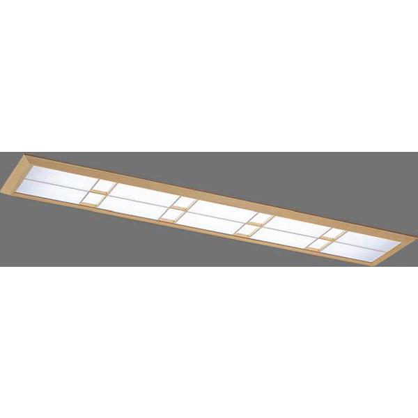 【LEKR427323WW-LS9+F-42118N】東芝 LEDベースライト 40タイプ 埋込形 和風埋込形W220 温白色 3500K 【TOSHIBA】
