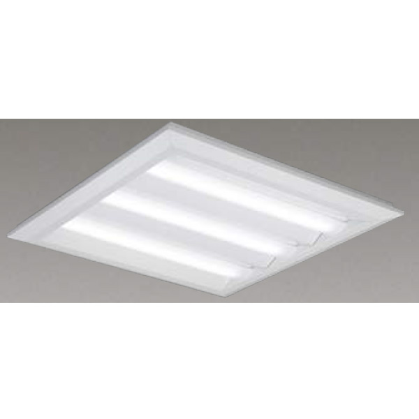【LEKT770112W-LD9】東芝 LEDベースライト TENQOOスクエア LEDバータイプ 直付埋込兼用形□720 下面開放タイプ 色温度4000K Ra83 FHP45