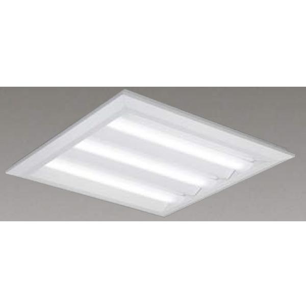 【LEKT770652WW-LD9】東芝 LEDベースライト TENQOOスクエア LEDバータイプ 直付埋込兼用形□720 下面開放タイプ 色温度3500K Ra83 FHP45