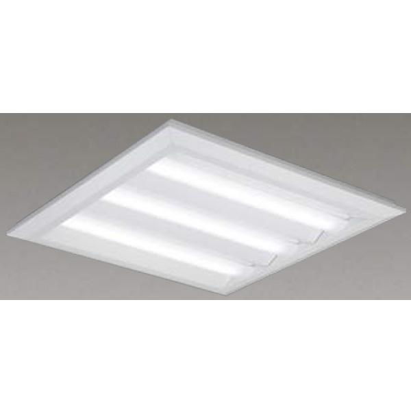 【LEKT750452W-LD9】東芝 LEDベースライト TENQOOスクエア LEDバータイプ 直付埋込兼用形□570 下面開放タイプ 色温度4000K Ra83 FHP32