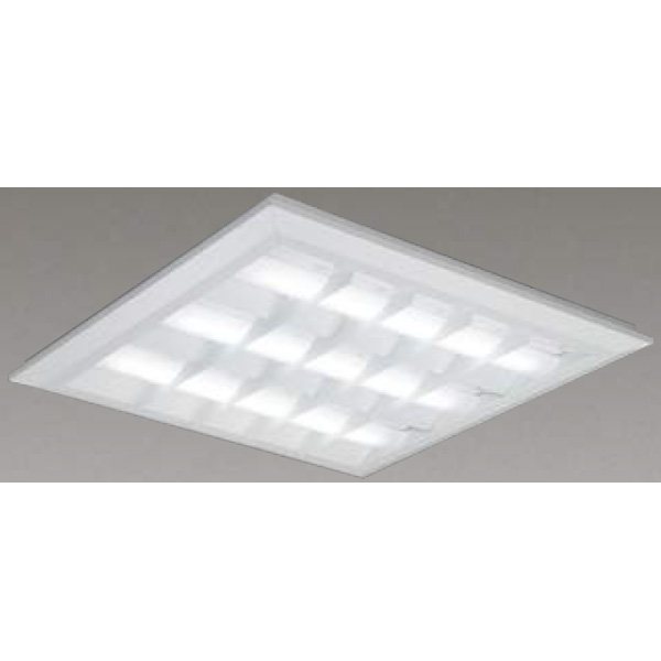 【LEKT771112W-LD9】東芝 LEDベースライト TENQOOスクエア LEDバータイプ 直付埋込兼用形 バッフルタイプ 直付埋込兼用形□720色温度4000K