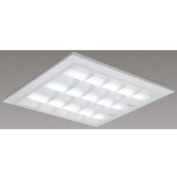 【LEKT771652W-LD9】東芝 LEDベースライト TENQOOスクエア LEDバータイプ 直付埋込兼用形 バッフルタイプ 直付埋込兼用形□720色温度4000K