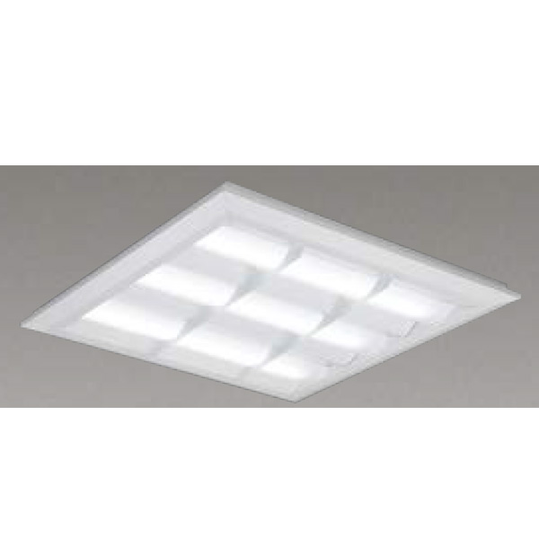 【LEKT751652WW-LD9】東芝 LEDベースライト TENQOOスクエア LEDバータイプ 直付埋込兼用形 バッフルタイプ 直付埋込兼用形□570