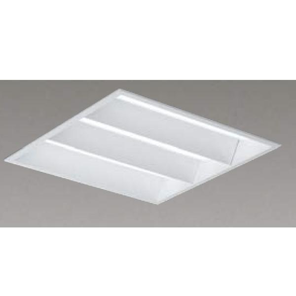 【LEKR740652WW-LD9】東芝 LEDベースライト TENQOOスクエア LEDバータイプ 埋込形 下面開放タイプ 埋込形□450 色温度3500K Ra83 FHP32