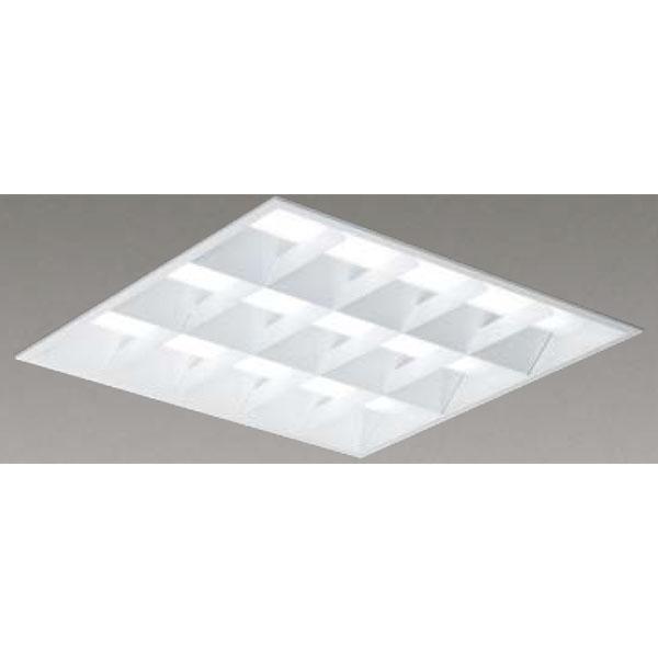 【LEKR761652WW-LD9】東芝 LEDベースライト TENQOOスクエア LEDバータイプ 埋込形 バッフルタイプ下面開放タイプ 埋込形□600 色温度3500K