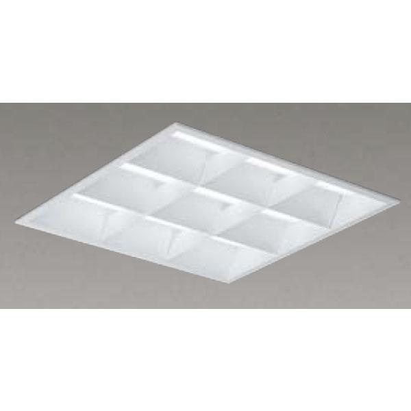 【LEKR741452WW-LD9】東芝 LEDベースライト TENQOOスクエア LEDバータイプ 埋込形 バッフルタイプ下面開放タイプ 埋込形□450 色温度3500K