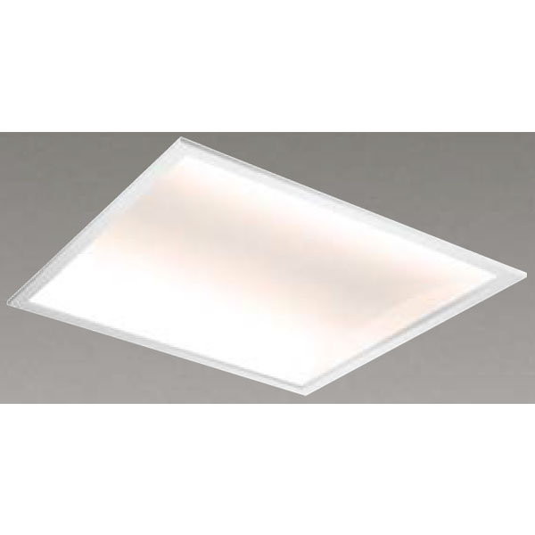 【LEKR760125W-LD9】東芝 LEDベースライト TENQOOスクエア パネルタイプ 間接光風パネルタイプ 埋込形□600 色温度4000K Ra83 FHP45