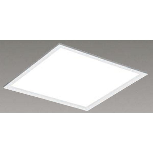 【LEKR763501FW-LD9】東芝 LEDベースライト TENQOOスクエア パネルタイプ 間接光風パネルタイプ 乳白パネル 埋込形□639 色温度4000K