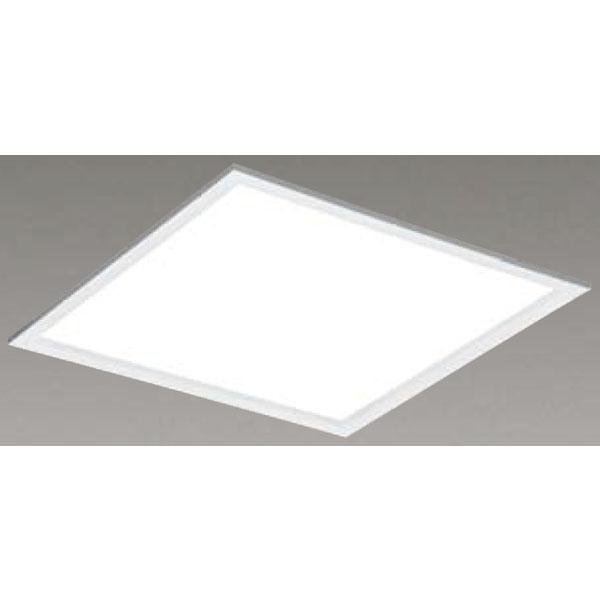 【LEKR760101FWW-LD9】東芝 LEDベースライト TENQOOスクエア パネルタイプ 間接光風パネルタイプ 乳白パネル 埋込形□600 色温度3500K