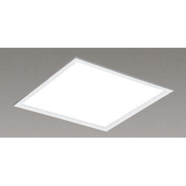 【LEKR745651FW-LD9】東芝 LEDベースライト TENQOOスクエア パネルタイプ 間接光風パネルタイプ 乳白パネル 埋込形□450 色温度4000K