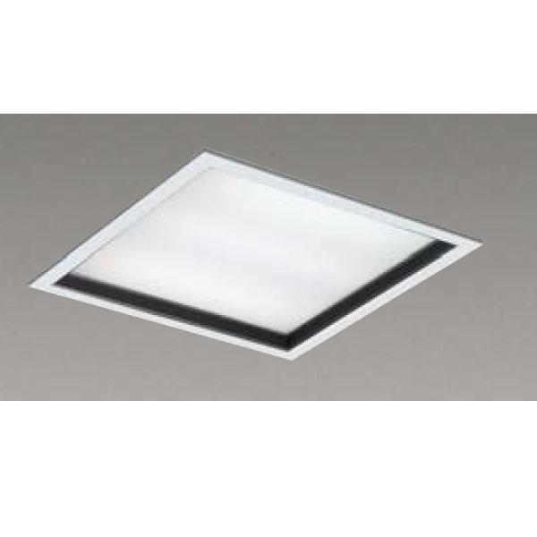 【LEKR745651KW-LD9】東芝 LEDベースライト TENQOOスクエア パネルタイプ 深枠(黒)パネル 埋込形□450 色温度4000K Ra83 FHP32 形×3