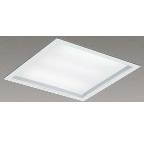 【LEKR760101UW-LD9】東芝 LEDベースライト TENQOOスクエア パネルタイプ 深枠(白)パネル 埋込形□600 色温度4000K Ra83 FHP45 形×4