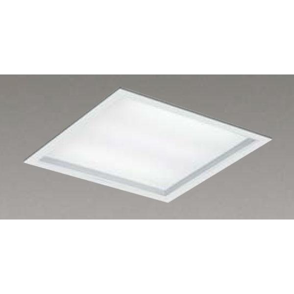 【LEKR745851UW-LD9】東芝 LEDベースライト TENQOOスクエア パネルタイプ 深枠(白)パネル 埋込形□450 色温度4000K Ra83 FHP32 形×4