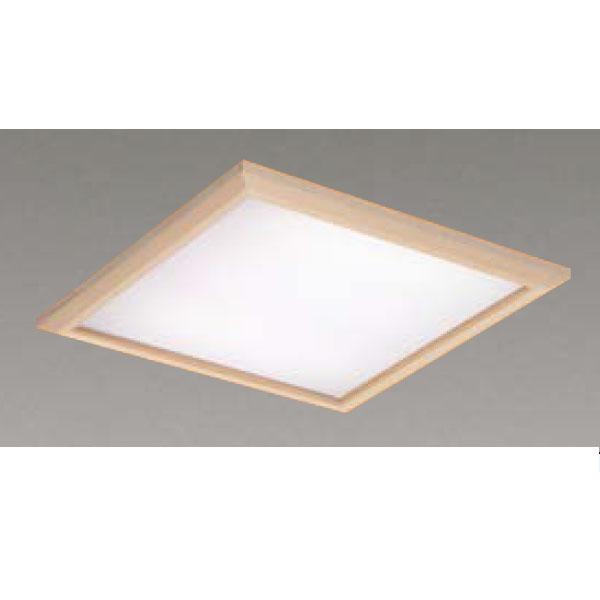 【LEKR745851JW-LD9】東芝 LEDベースライト TENQOOスクエア パネルタイプ 和風乳白パネル 埋込形□450 色温度4000K Ra83 FHP32 形×4