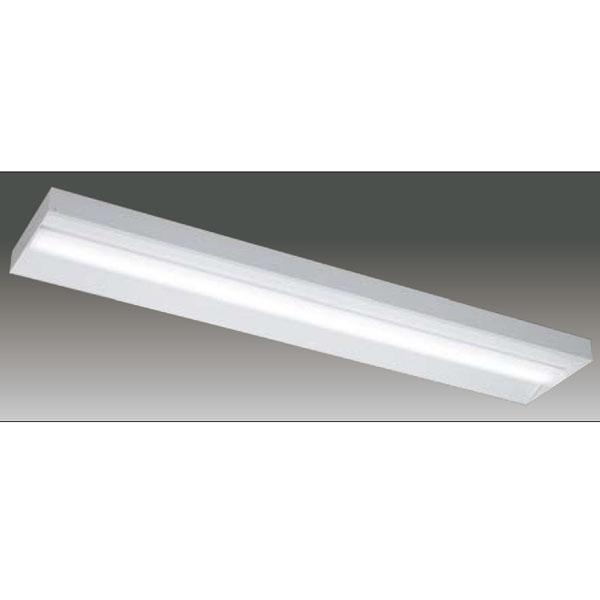 【LEET-42501E-LS9+LEEM-40524WW-HG】東芝 LEDベースライト TENQOOシリーズ 低ノイズ器具 40タイプ直付形 直付下面開放 Ra83