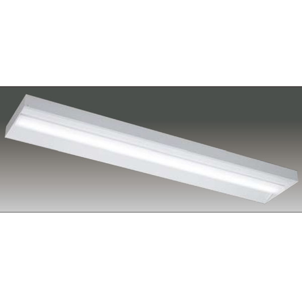 【LEET-42501E-LS9+LEEM-40203W-01】東芝 LEDベースライト TENQOOシリーズ 低ノイズ器具 40タイプ直付形 直付下面開放 Ra83 一般タイプ