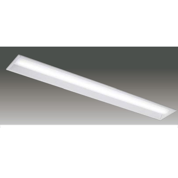【LEER-41502E-LS9+LEEM-40694N-HG】東芝 LEDベースライト TENQOOシリーズ 低ノイズ器具 40タイプ埋込形 下面開放W150 Ra83