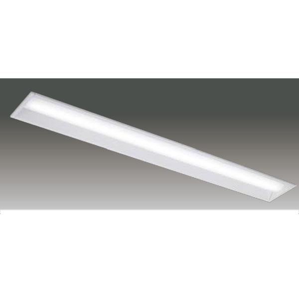 【LEER-41502E-LS9+LEEM-40523WW-01】東芝 LEDベースライト TENQOOシリーズ 低ノイズ器具 40タイプ埋込形 下面開放W150 Ra83 一般タイプ