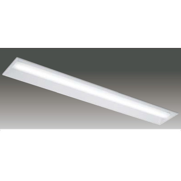 【LEER-41902E-LS9+LEEM-40693D-01】東芝 LEDベースライト TENQOOシリーズ 低ノイズ器具 40タイプ埋込形 下面開放W190 Ra83 一般タイプ