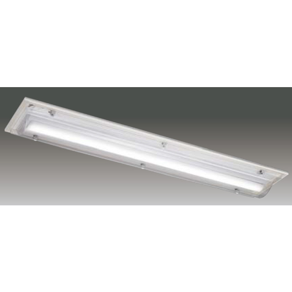 【LEET-42841A-LD9+LEEM-40693WW-01】東芝 LEDベースライト TENQOOシリーズ HACCP対応器具 HACCP対応器具 40タイプ 直付形 一般形