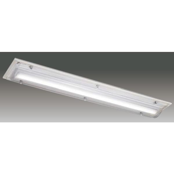 【LEET-42841A-LD9+LEEM-40203WW-01】東芝 LEDベースライト TENQOOシリーズ HACCP対応器具 HACCP対応器具 40タイプ 直付形 一般形