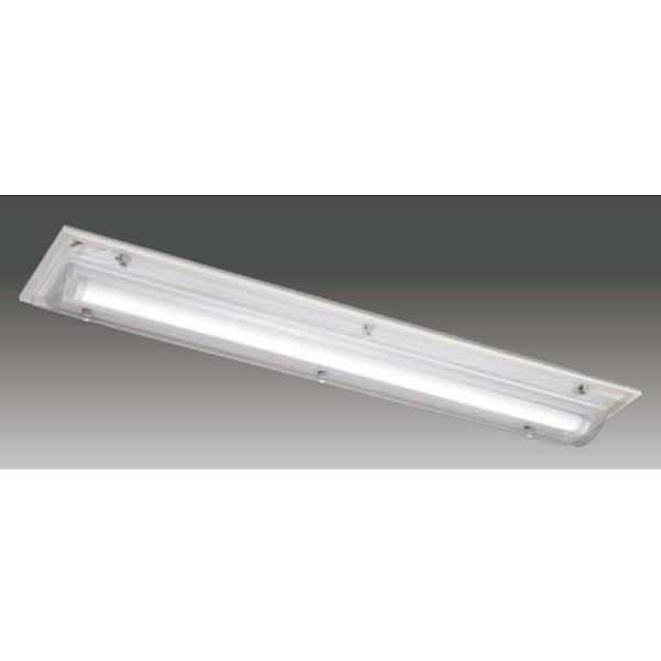 【LEET-42841WA-LS9+LEEM-40203N-WP】東芝 LEDベースライト TENQOOシリーズ HACCP対応器具 HACCP対応器具 40タイプ 直付形 防湿形