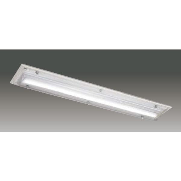 【LEET-42841AT-LS9+LEEM-41203N-PS】東芝 LEDベースライト TENQOOシリーズ HACCP対応器具 HACCP対応 ハイパワー 直付形 集光