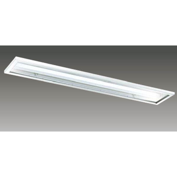 【LEER-42251C6-LS9+LEEM-40253WW-01】東芝 LEDベースライト TENQOOシリーズ クリーンルーム向け器具 クリーンルーム向け 40タイプ