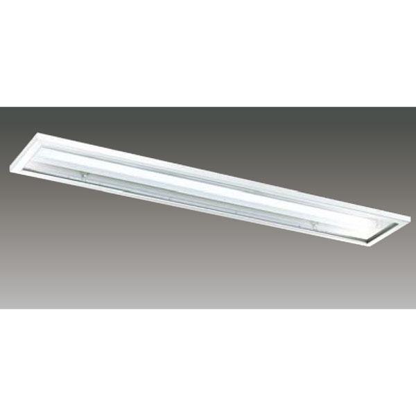 【LEER-42251C6-LD9+LEEM-40203WW-01】東芝 LEDベースライト TENQOOシリーズ クリーンルーム向け器具 クリーンルーム向け 40タイプ
