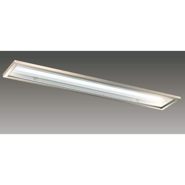 【LEER-42251S6-LD9+LEEM-40694W-HG】東芝 LEDベースライト TENQOOシリーズ クリーンルーム向け器具 クリーンルーム向け 40タイプ
