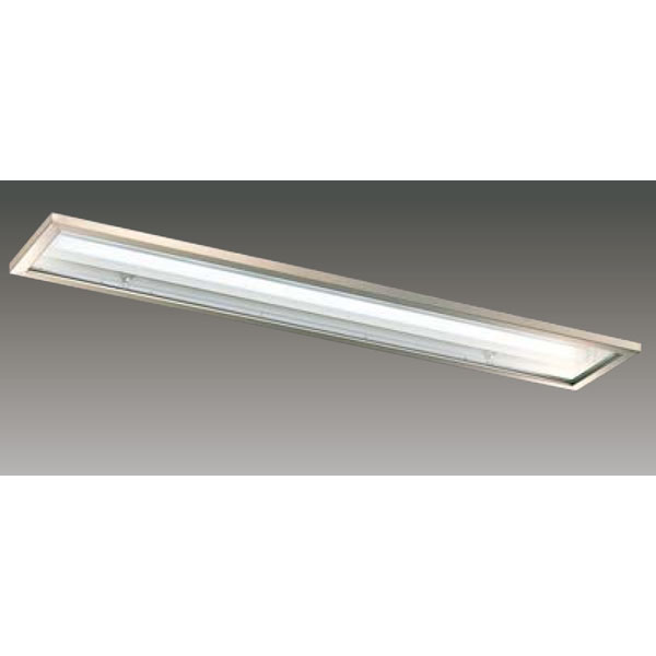 【LEER-42251S6-LD9+LEEM-40524W-HG】東芝 LEDベースライト TENQOOシリーズ クリーンルーム向け器具 クリーンルーム向け 40タイプ