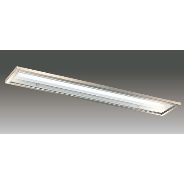 【LEER-42251S5-LS9+LEEM-40403L-01】東芝 LEDベースライト TENQOOシリーズ クリーンルーム向け器具 クリーンルーム向け 40タイプ