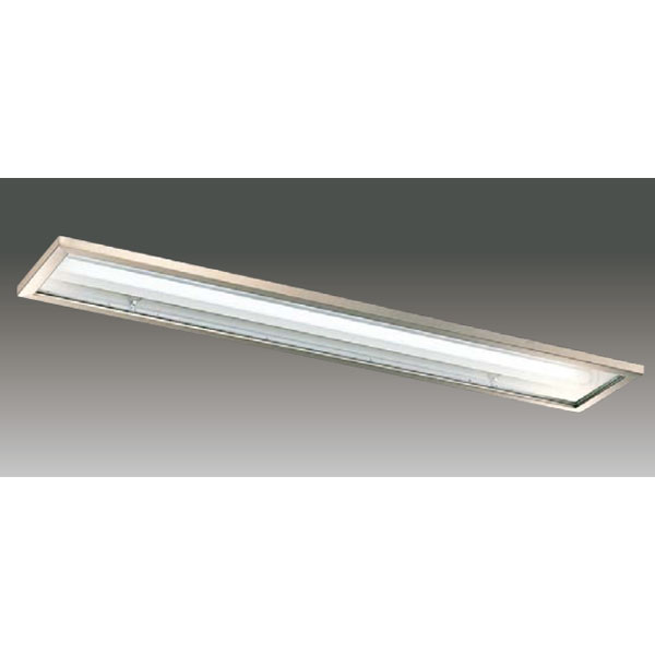 【LEER-42251S5-LD9+LEEM-40694W-HG】東芝 LEDベースライト TENQOOシリーズ クリーンルーム向け器具 クリーンルーム向け 40タイプ