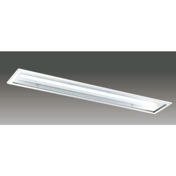 【LEER-42251C6T-LS9+LEEM-41003N-PS】東芝 LEDベースライト TENQOOシリーズ クリーンルーム向け クリーンルーム向け 埋込形