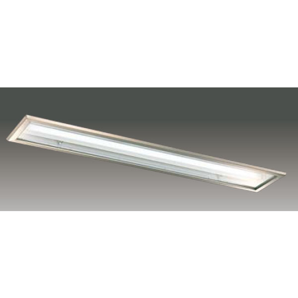 【LEER-42251S6T-LS9+LEEM-41003N-01】東芝 LEDベースライト TENQOOシリーズ クリーンルーム向け クリーンルーム向け 埋込形