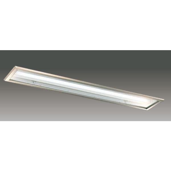 【LEER-42251S6T-LS9+LEEM-41003WW-01】東芝 LEDベースライト TENQOOシリーズ クリーンルーム向け クリーンルーム向け 埋込形