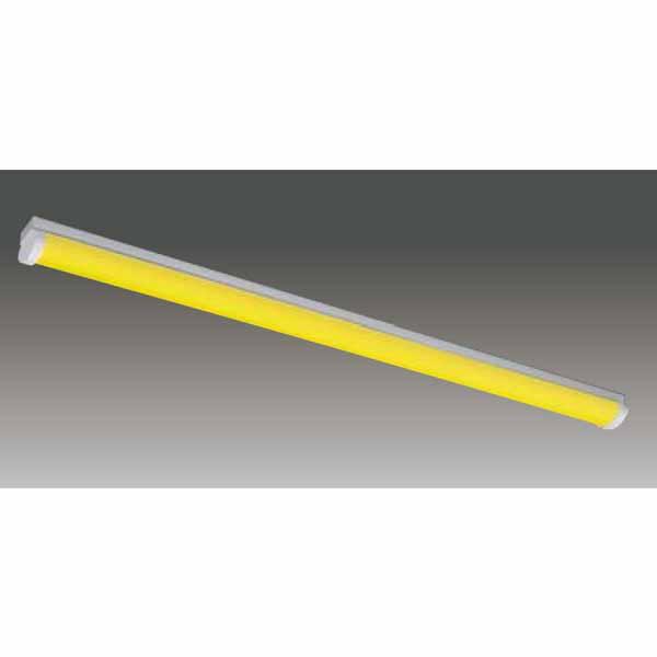 【LEET-40701W-LS9+LEEM-40403Y-WP】東芝 工場・衛生環境用器具 イエロー光 LEDバータイプ 40タイプ 直付形 W70 光色:黄色 【TOSHIBA】