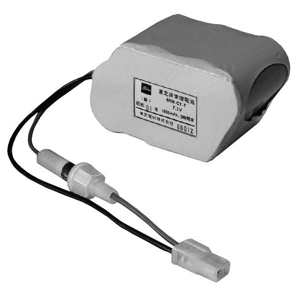 【4NR-CX-TB】東芝 誘導灯・非常用照明器具 交換電池 【TOSHIBA】