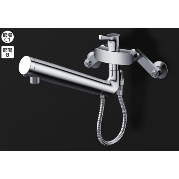 【TKS05318J】TOTO 浄水器兼用混合水栓 壁付シングル混合水栓 【トートー】