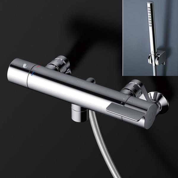 【TBV03413J】TOTO 壁付サーモスタット混合水栓 GGシリーズ コンフォートウエーブ(シリンダー形)メタル 【トートー】