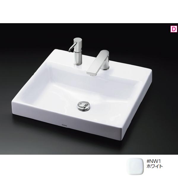 【LS717CM #NW1】TOTO カウンター式洗面器 ベッセル式 ホワイト 【トートー】