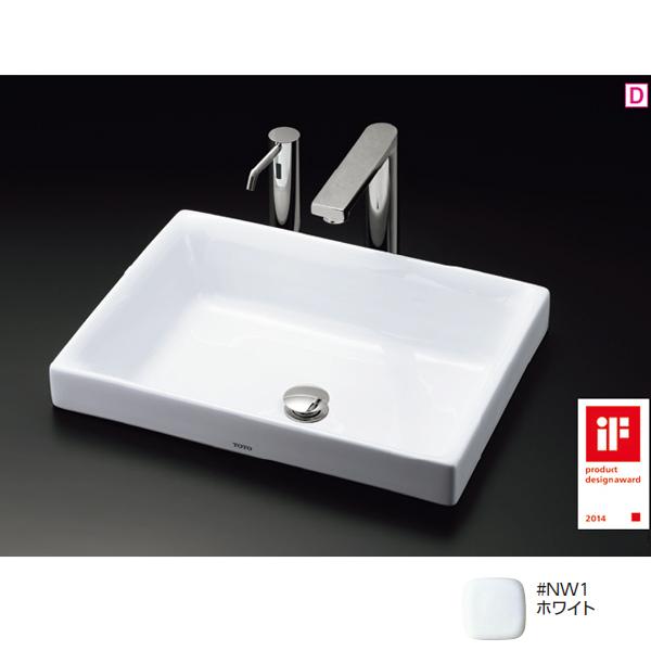 LS716 #NW1 TOTO 新商品!新型 洗面器 ホワイト トートー 新入荷 流行 ベッセル式洗面器