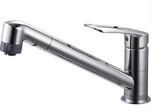 【在庫有り】 三栄水栓 水栓金具 K8711MEJV-13 シングルワンホール切替シャワー混合栓