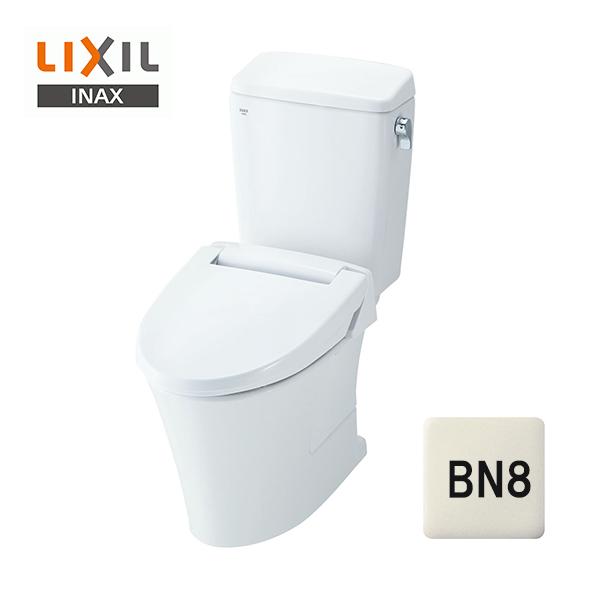 在庫有り【YBC-ZA10H+DT-ZA150H】リクシル アメージュZ便器 リトイレ フチレス 手洗い無 床250~550mm アクアセラミック BN8(オフホワイト)【LIXIL】