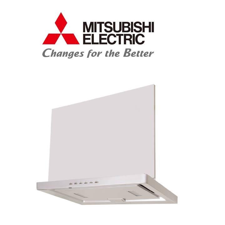 三菱 MITSUBISHI V-754FR 本体幅75cm 換気扇 ロスナイ レンジフードファン フラット形 IHクッキングヒータ連動可能