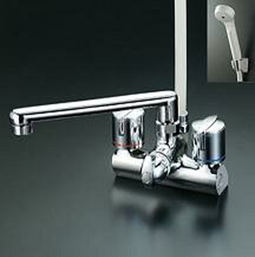 KVK 浴室水栓 シャワー水栓 KF206G 定番キャンバス 公式
